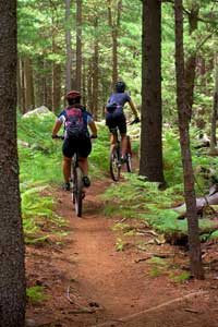 Mountain Biking in Jackman, Maine