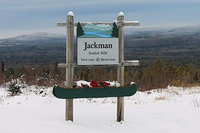 Welcome to Jackman Maine
